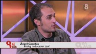 L'Àngel Casellas al 8TV