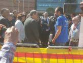 Parlant del Gos d'Atura Català amb el President de la Generalitat de Catalunya