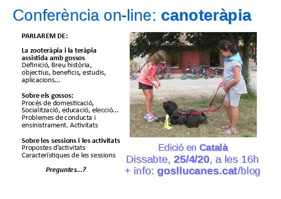 Conferència on-line: canoteràpia